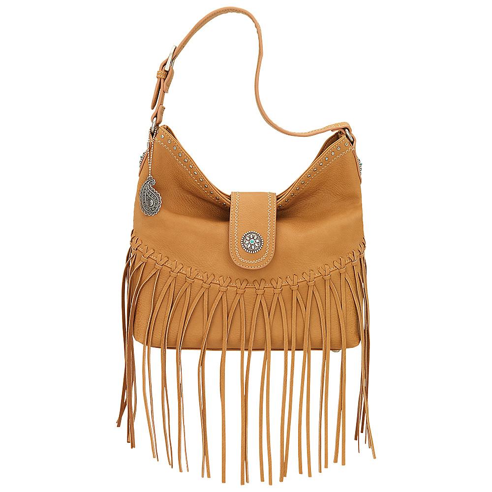Bandana Rio Rancho Hobo Shoulder Bag Tan Bandana Manmade Handbags