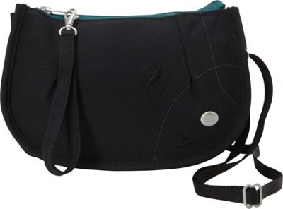Haiku Venture Wristlet Black Juniper - Haiku Fabric Handbags