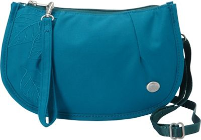 Haiku Venture Wristlet Sea Blue - Haiku Fabric Handbags