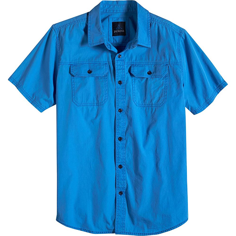 PrAna Barekur Shirt XL - Stream - PrAna Mens Apparel - Apparel & Footwear, Men's Apparel