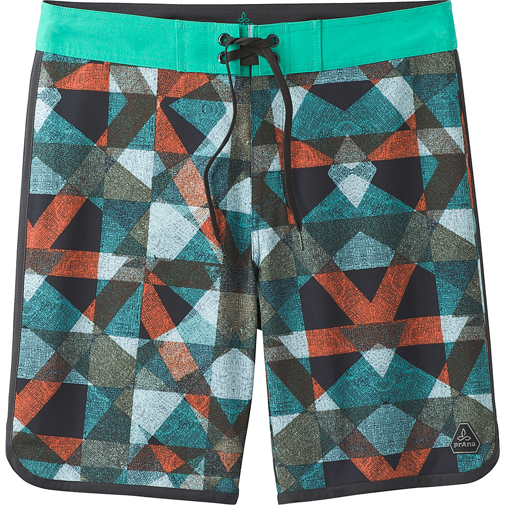 PrAna High Seas Shorts 36 - Spruce Dune - PrAna Mens Apparel - Apparel & Footwear, Men's Apparel