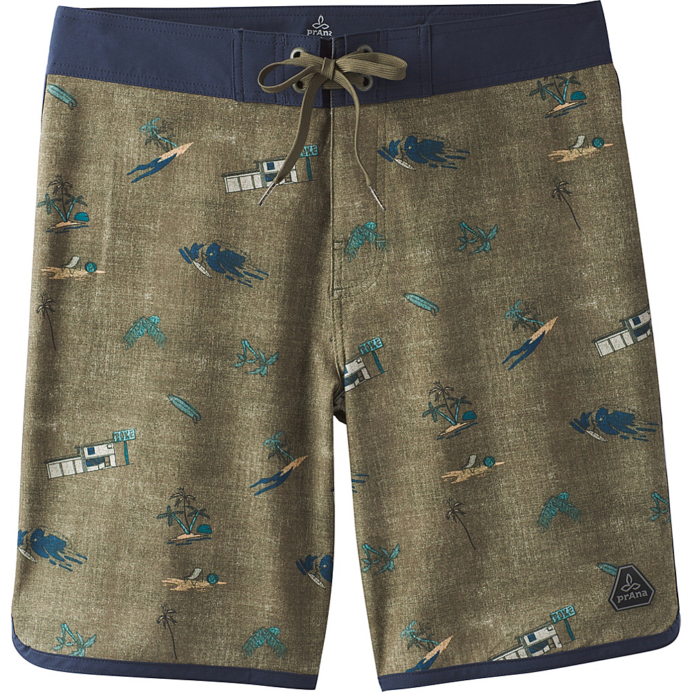 PrAna High Seas Shorts 30 - Hunter - PrAna Mens Apparel - Apparel & Footwear, Men's Apparel
