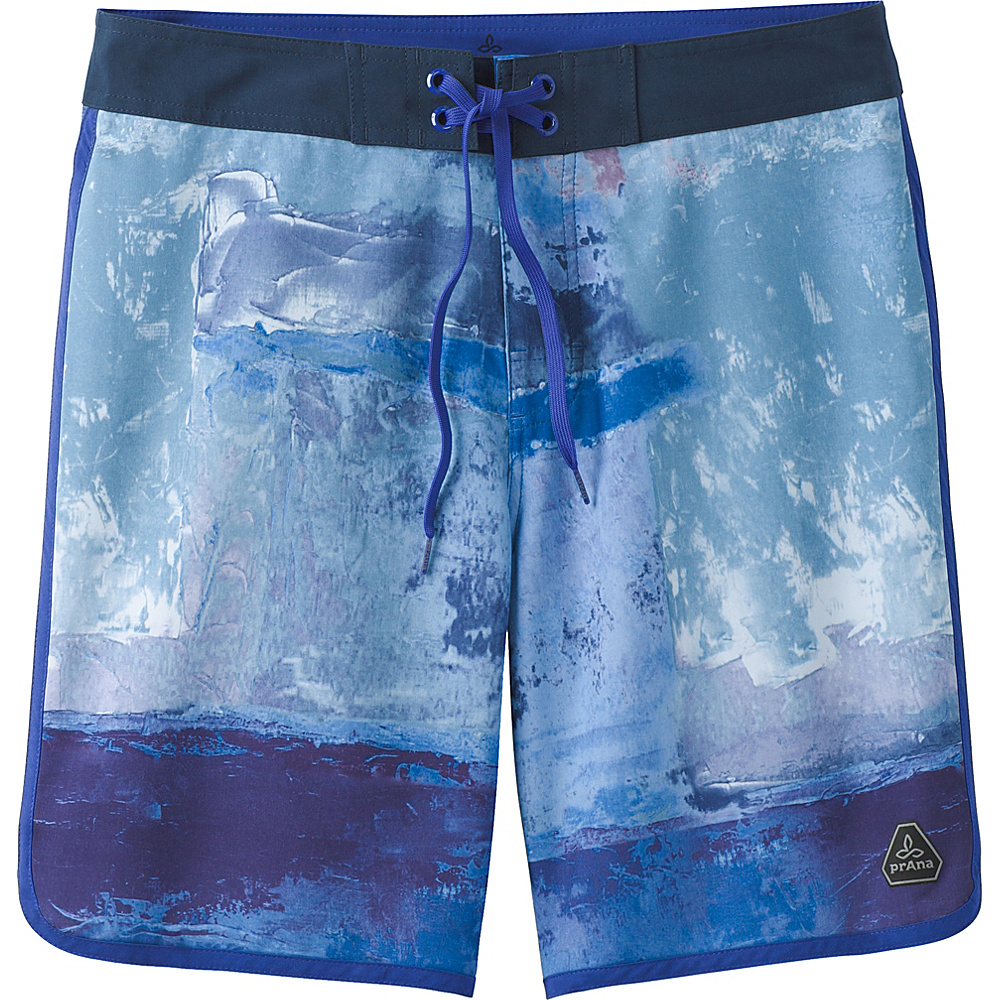 PrAna High Seas Shorts 38 - Dusky Skies Elliot - PrAna Mens Apparel - Apparel & Footwear, Men's Apparel