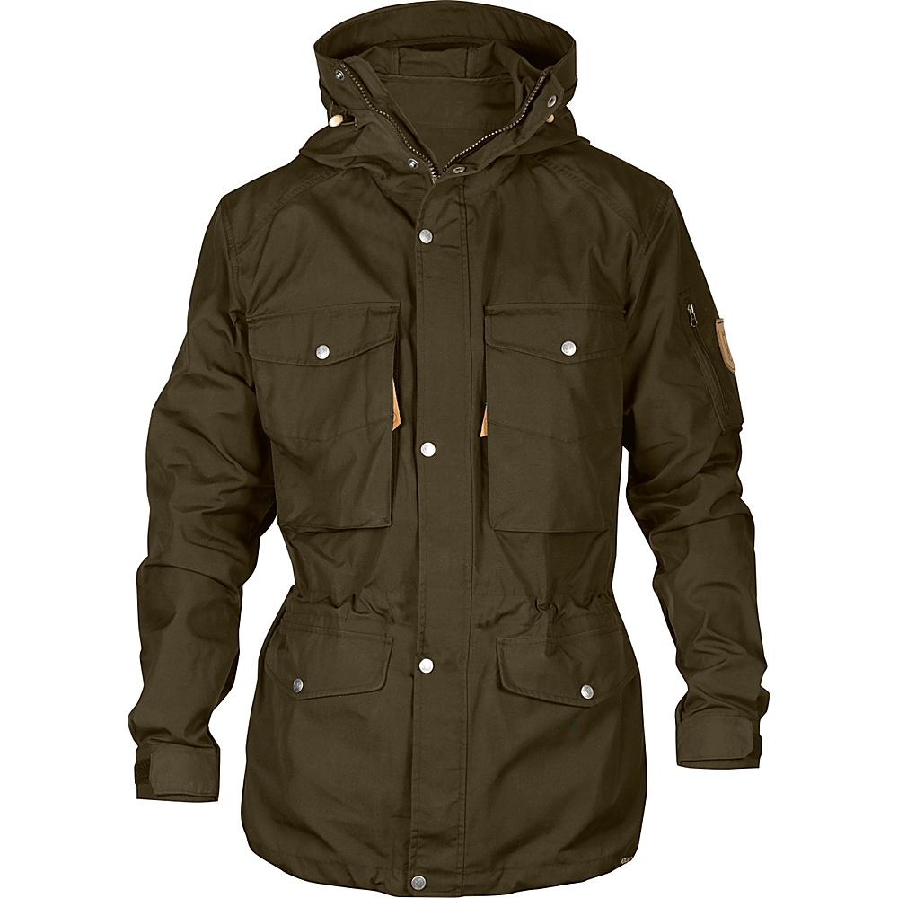 Fjallraven Sarek Trekking Jacket XS - Dark Olive - Fjallraven Mens Apparel - Apparel & Footwear, Men's Apparel