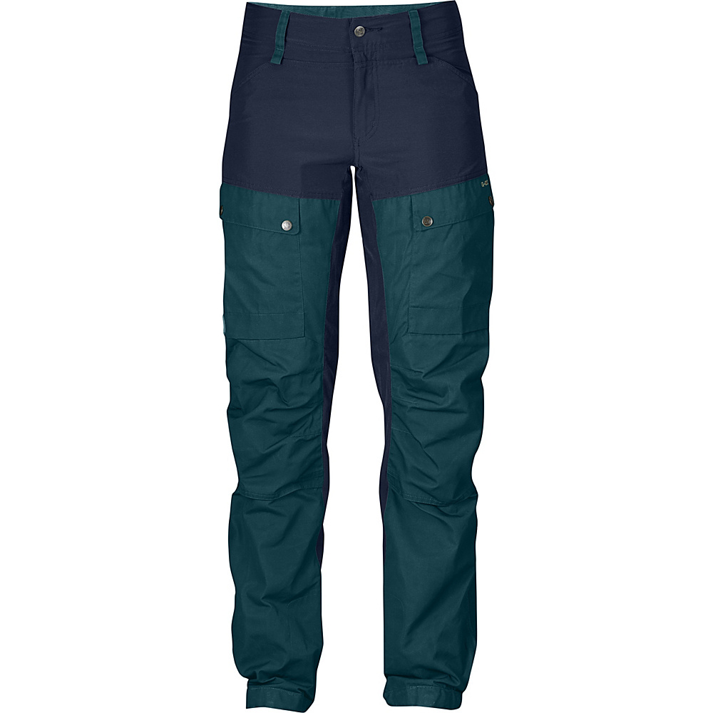 Fjallraven Womens Keb Trousers Regular EU 38 (US Womens 8) - Black - 34 - Fjallraven Womens Apparel - Apparel & Footwear, Women's Apparel