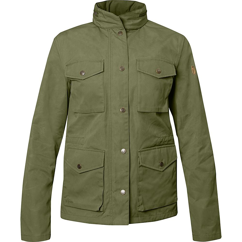Fjallraven Womens Raven Jacket XS - Green - Fjallraven Womens Apparel - Apparel & Footwear, Women's Apparel