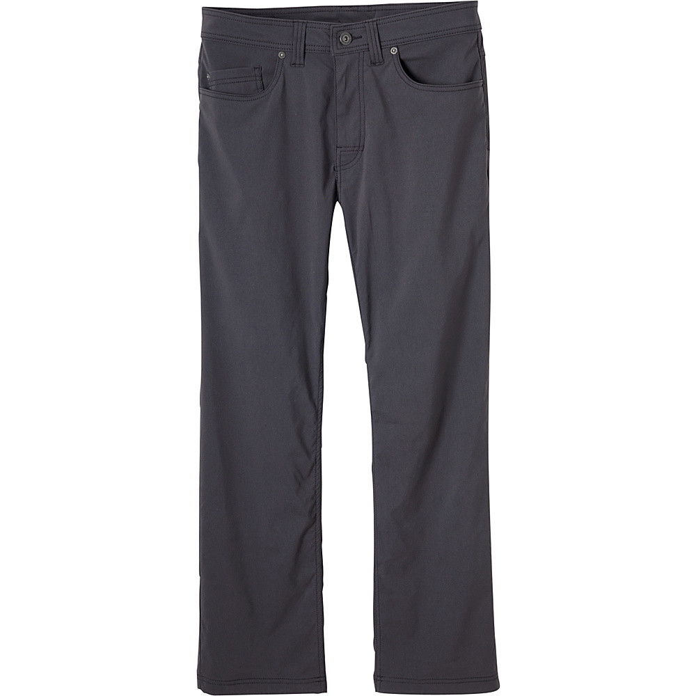 PrAna Brion Pants - 30 Inseam 38 - Charcoal - PrAna Mens Apparel - Apparel & Footwear, Men's Apparel