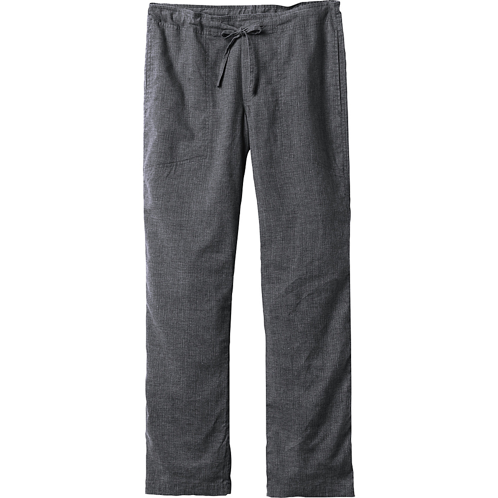 PrAna Sutra Pants - 34 Inseam M - Black Herringbone - PrAna Mens Apparel - Apparel & Footwear, Men's Apparel