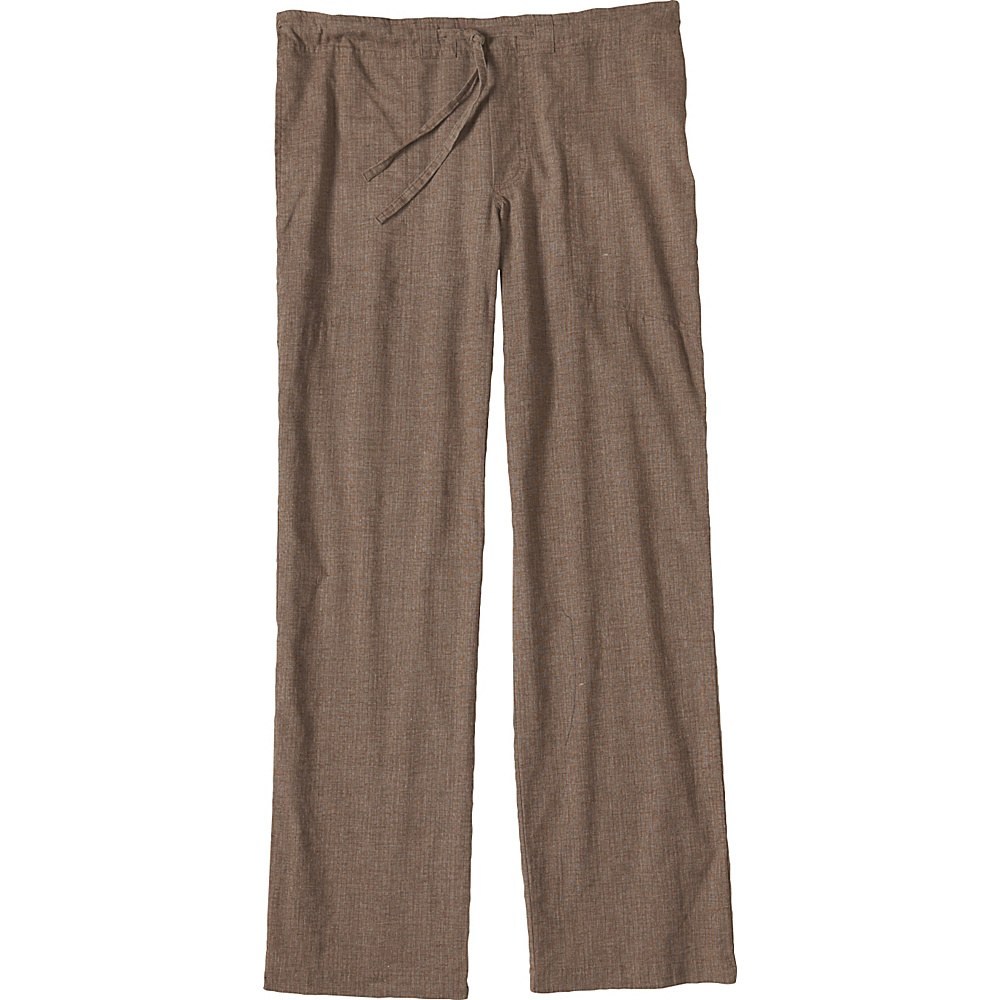 PrAna Sutra Pants - 34 Inseam S - Brown Herringbone - PrAna Mens Apparel - Apparel & Footwear, Men's Apparel