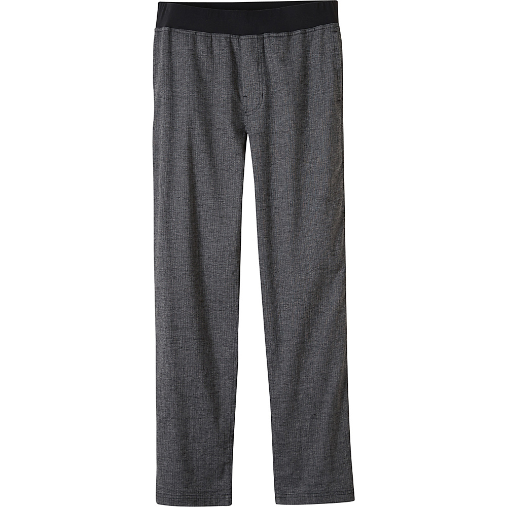 PrAna Vaha Pants - 30 Inseam L - Black Herringbone - PrAna Mens Apparel - Apparel & Footwear, Men's Apparel