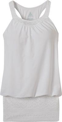 PrAna Ani Tank S - White - PrAna Women's Apparel