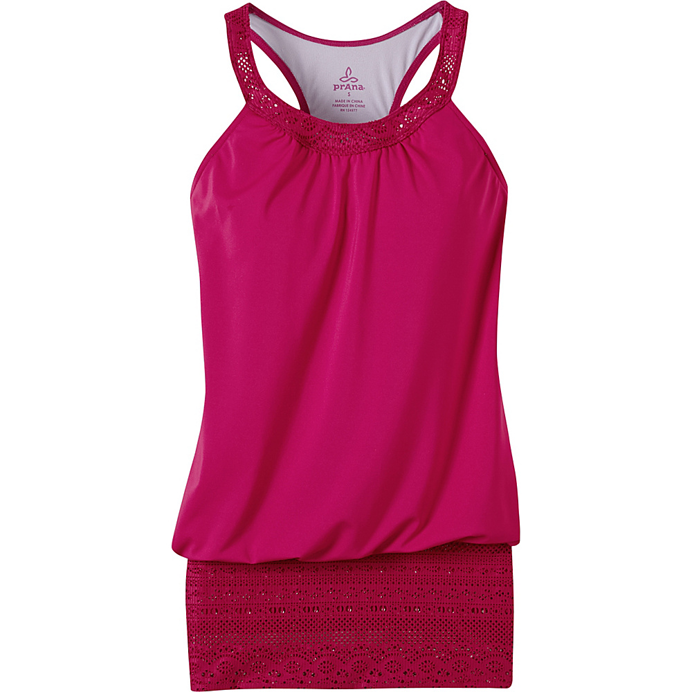PrAna Ani Tank S - Rich Fuchsia - PrAna Womens Apparel - Apparel & Footwear, Women's Apparel