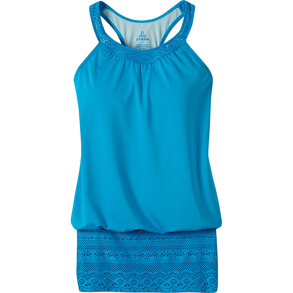 PrAna Ani Tank XS - Vivid Blue - PrAna Womens Apparel - Apparel & Footwear, Women's Apparel