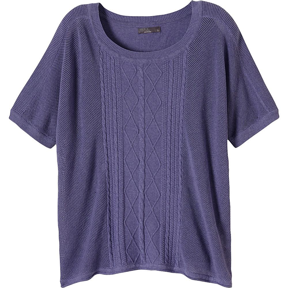 PrAna Nadine Sweater S - Purple Fog - PrAna Womens Apparel - Apparel & Footwear, Women's Apparel