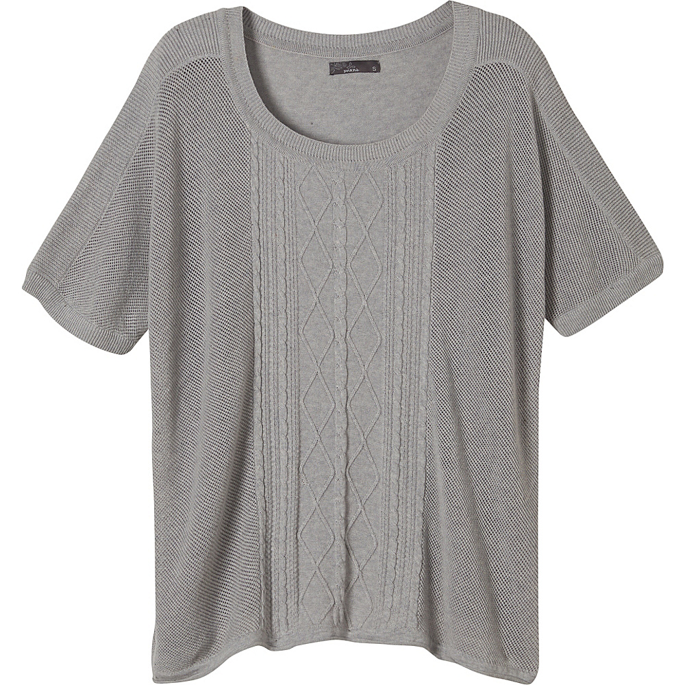 PrAna Nadine Sweater XS - Silver - PrAna Womens Apparel - Apparel & Footwear, Women's Apparel