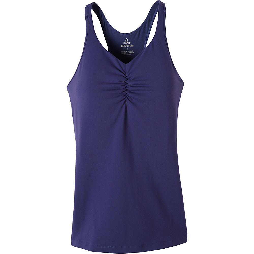 PrAna Sabin T-Back Top XS - Indigo - PrAna Womens Apparel - Apparel & Footwear, Women's Apparel