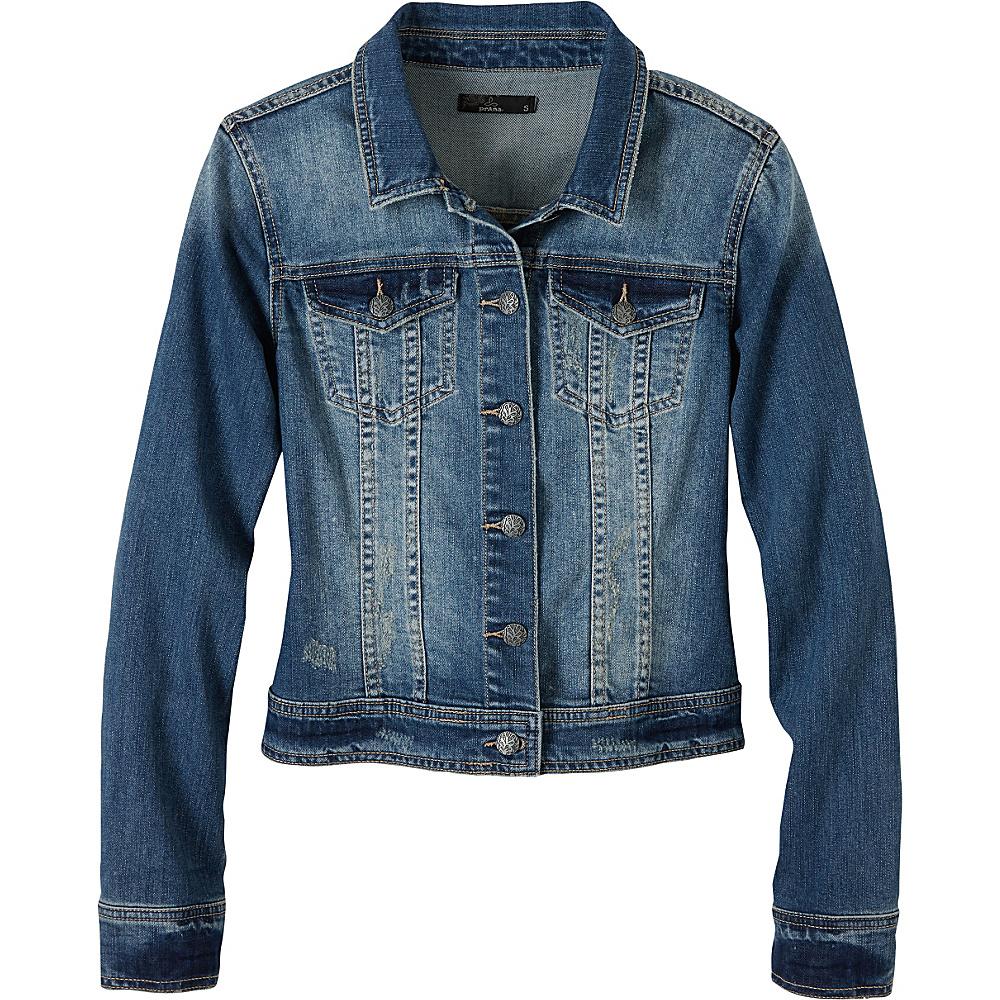 PrAna Dree Jacket S - Antique Blue - PrAna Womens Apparel - Apparel & Footwear, Women's Apparel