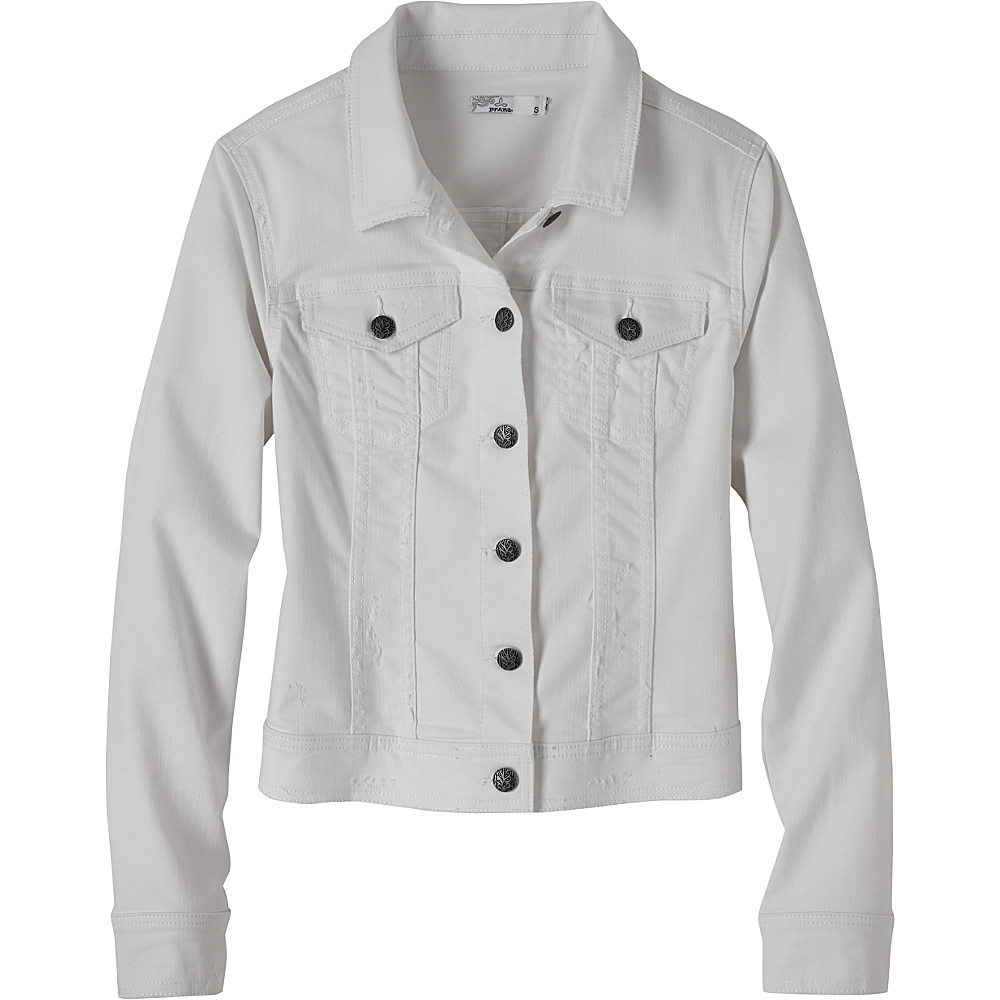 PrAna Dree Jacket S - White - PrAna Womens Apparel - Apparel & Footwear, Women's Apparel