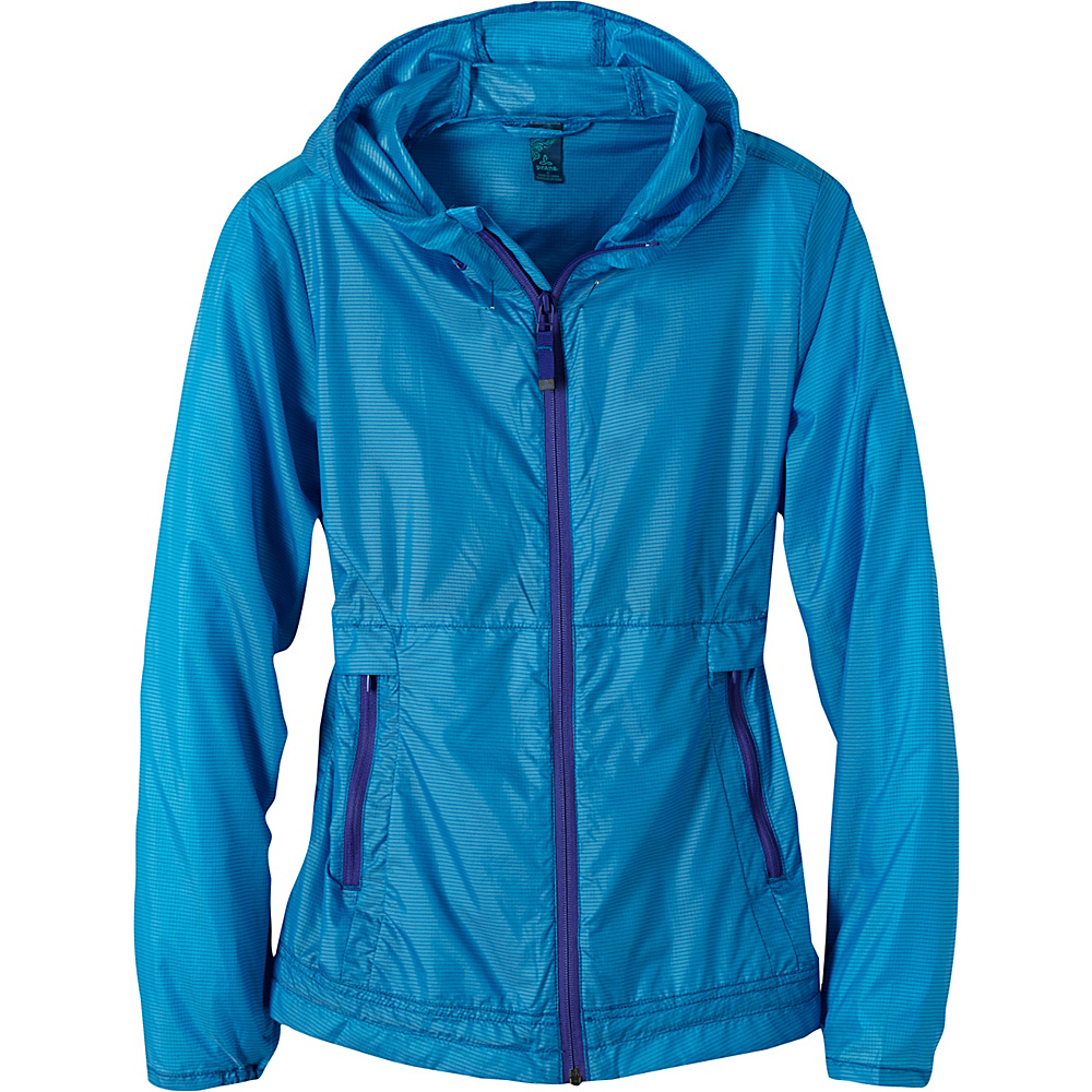 PrAna Inabel Jacket L - Electro Blue - PrAna Womens Apparel - Apparel & Footwear, Women's Apparel