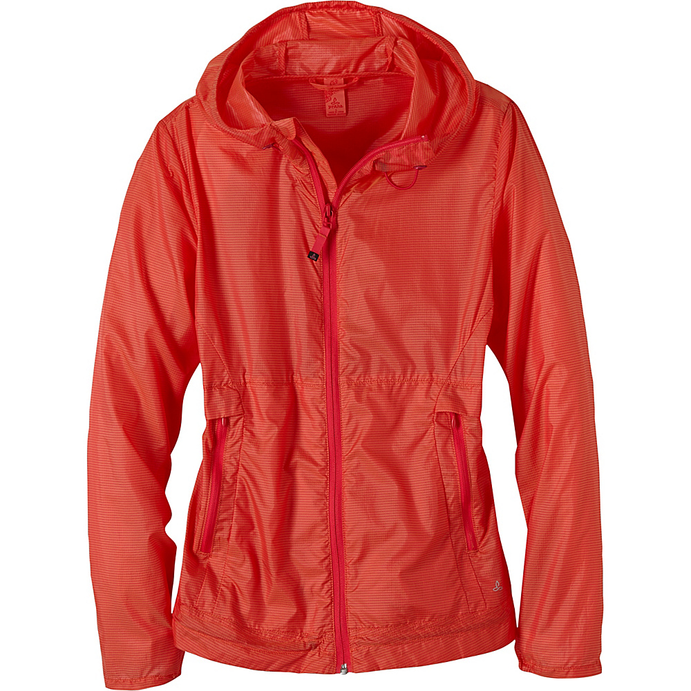 PrAna Inabel Jacket L - Neon Orange - PrAna Womens Apparel - Apparel & Footwear, Women's Apparel