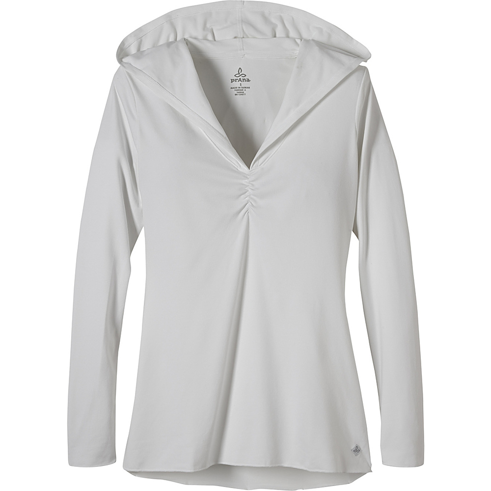 PrAna Perry Stripe Pullover S - White - PrAna Womens Apparel - Apparel & Footwear, Women's Apparel