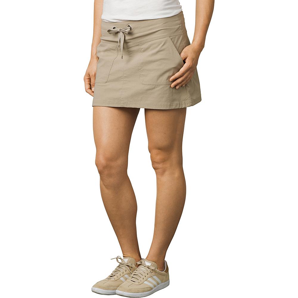 PrAna Bliss Skort M - Khaki - PrAna Womens Apparel - Apparel & Footwear, Women's Apparel