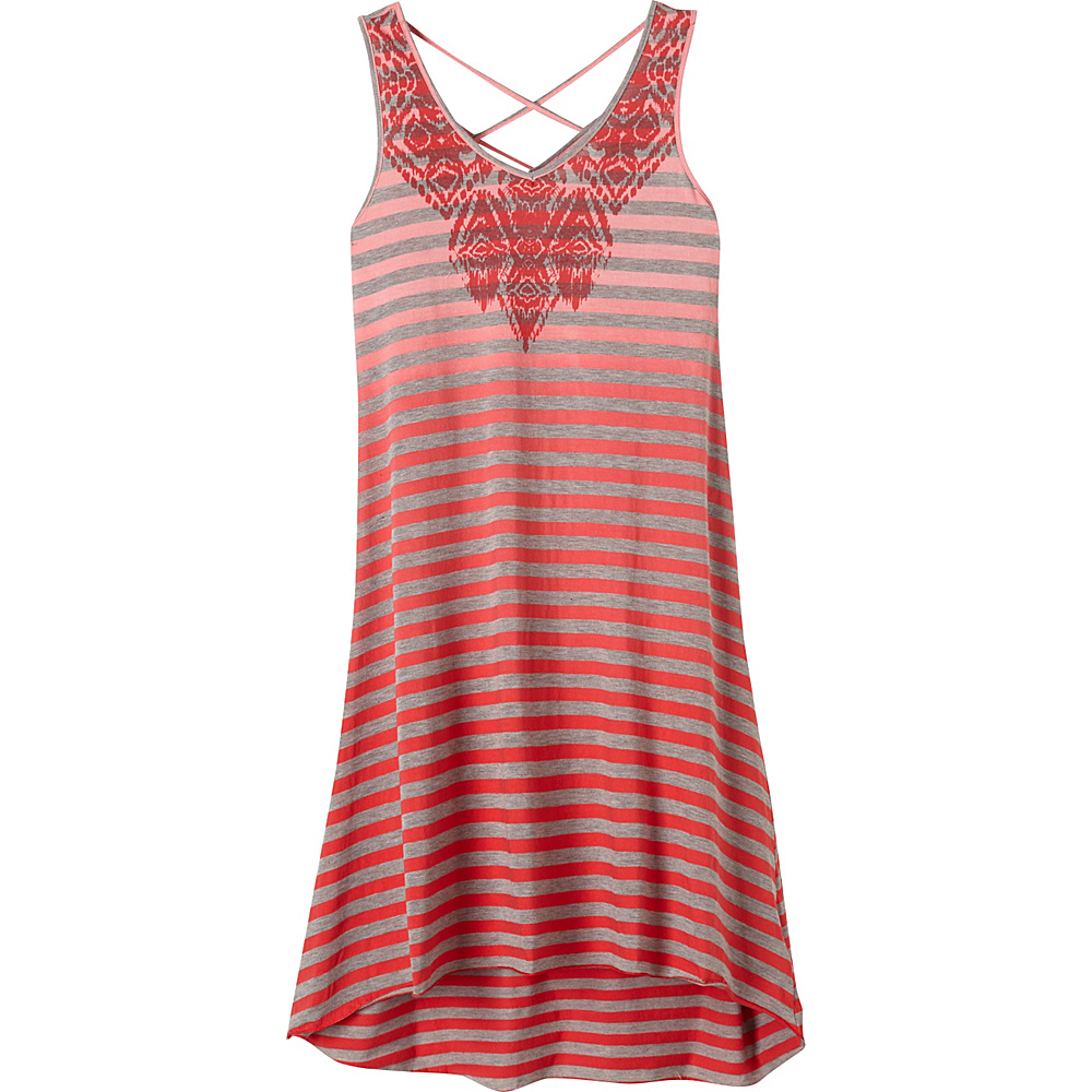 PrAna Henna Dress S - Sunwashed Red - PrAna Womens Apparel - Apparel & Footwear, Women's Apparel