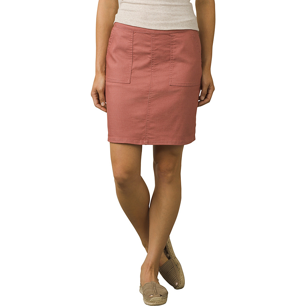 PrAna Kara Skirt 2 - Lacquered Rose - PrAna Womens Apparel - Apparel & Footwear, Women's Apparel