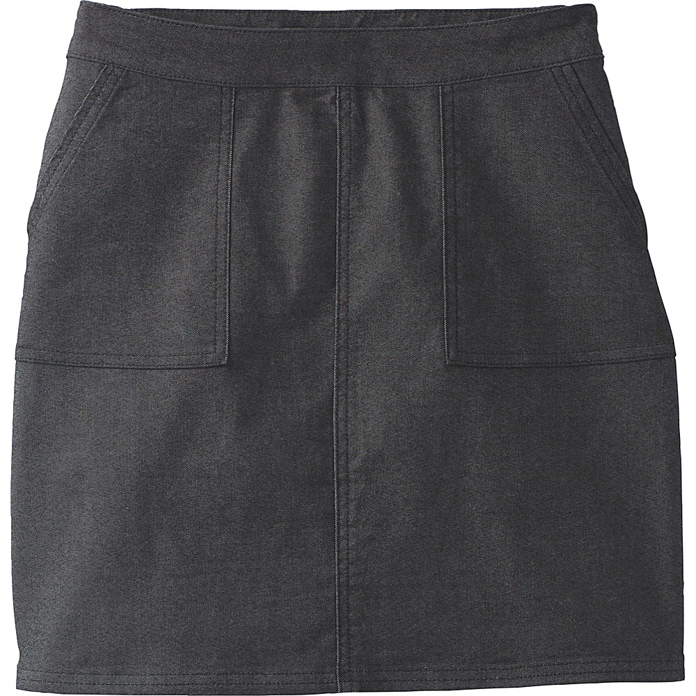 PrAna Kara Skirt 8 - Black - PrAna Womens Apparel - Apparel & Footwear, Women's Apparel