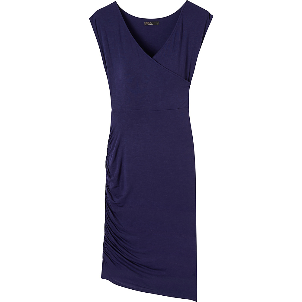 PrAna Shayla Dress S - Indigo - PrAna Womens Apparel - Apparel & Footwear, Women's Apparel