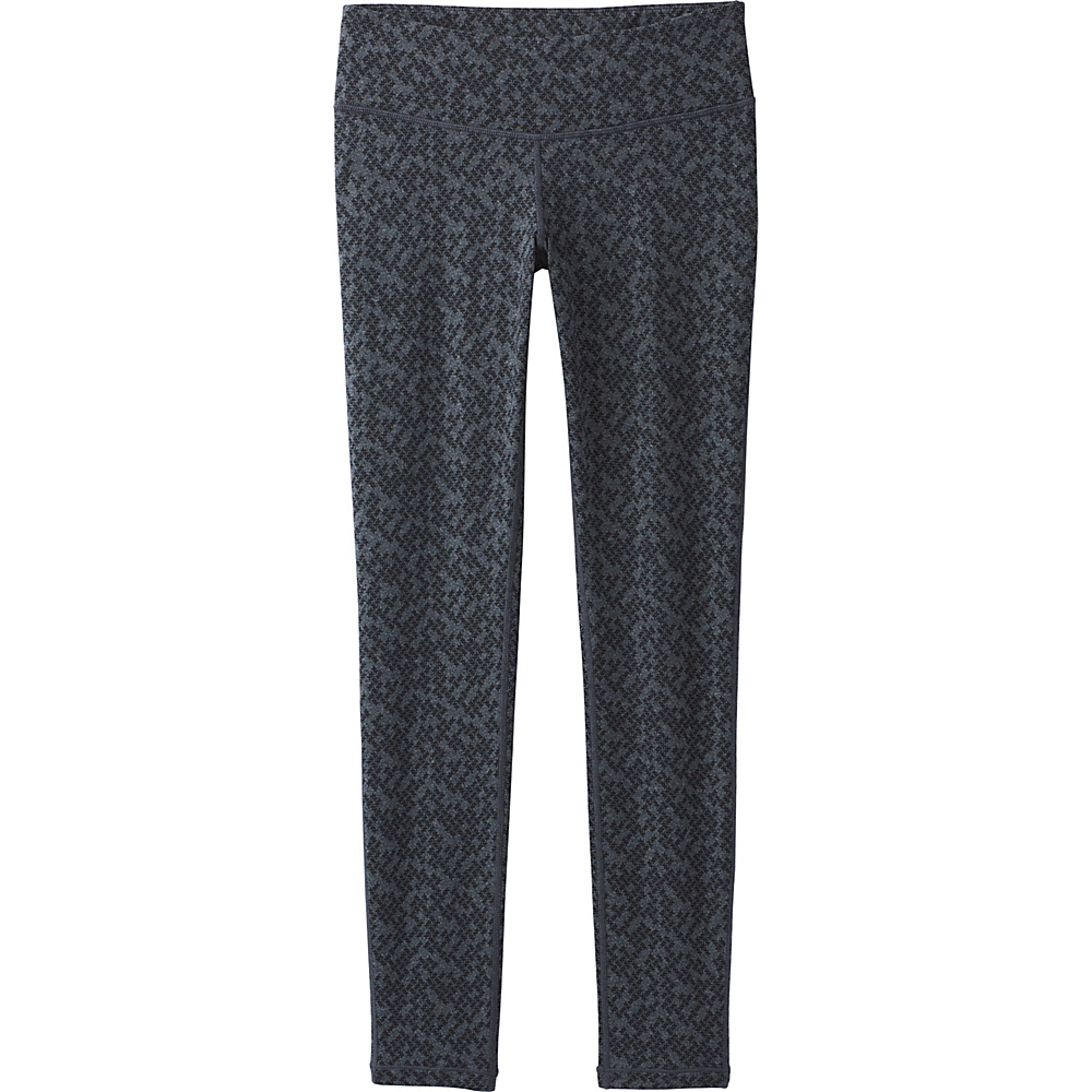 PrAna Ashley Legging Pants L - Charcoal Heather Puzzled - PrAna Womens Apparel - Apparel & Footwear, Women's Apparel