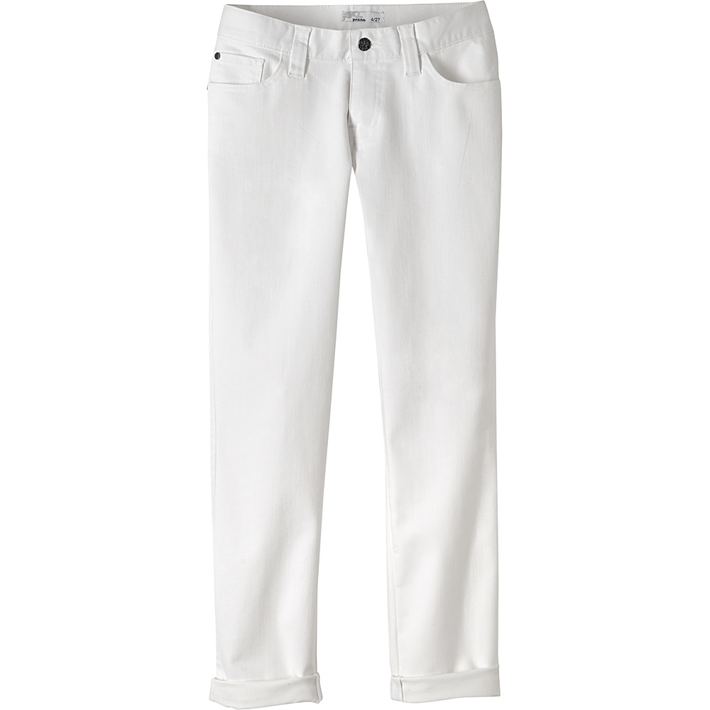 PrAna Honour Jeans 6 - White - PrAna Womens Apparel - Apparel & Footwear, Women's Apparel