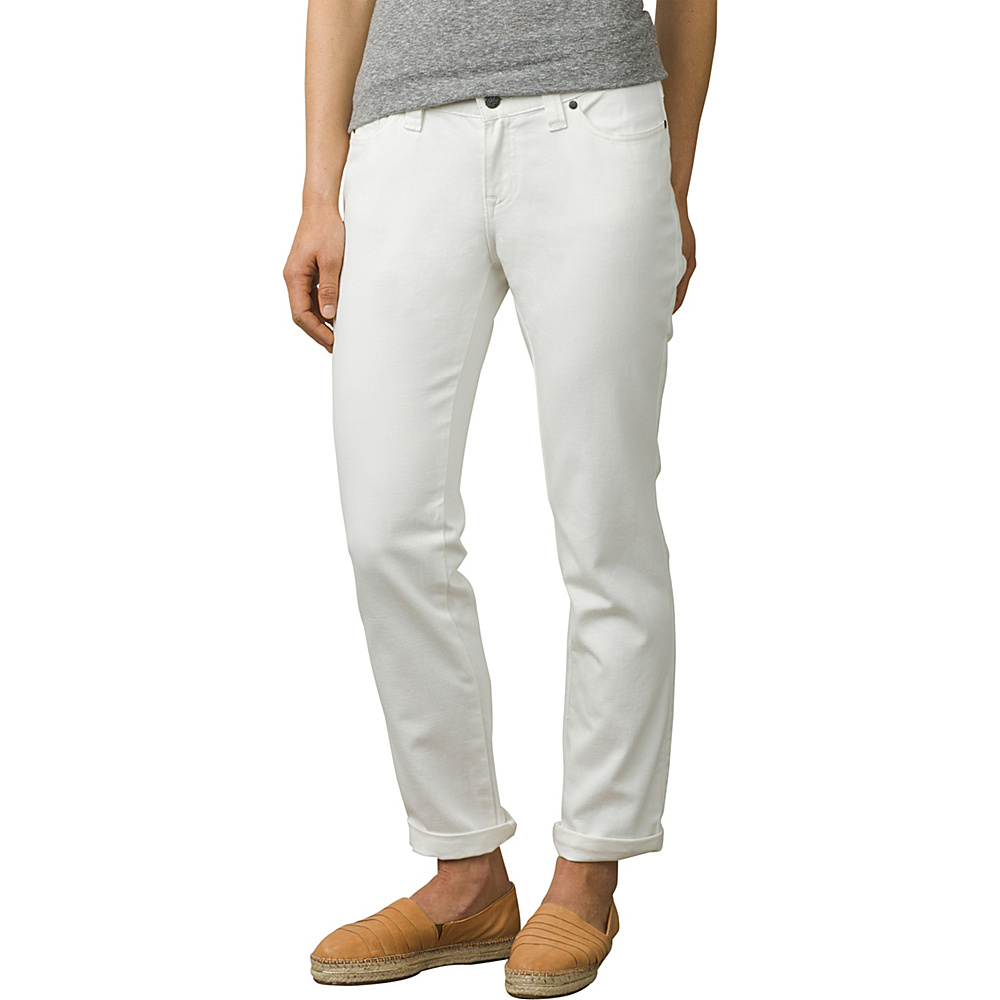 PrAna Honour Jeans 0 - White - PrAna Womens Apparel - Apparel & Footwear, Women's Apparel