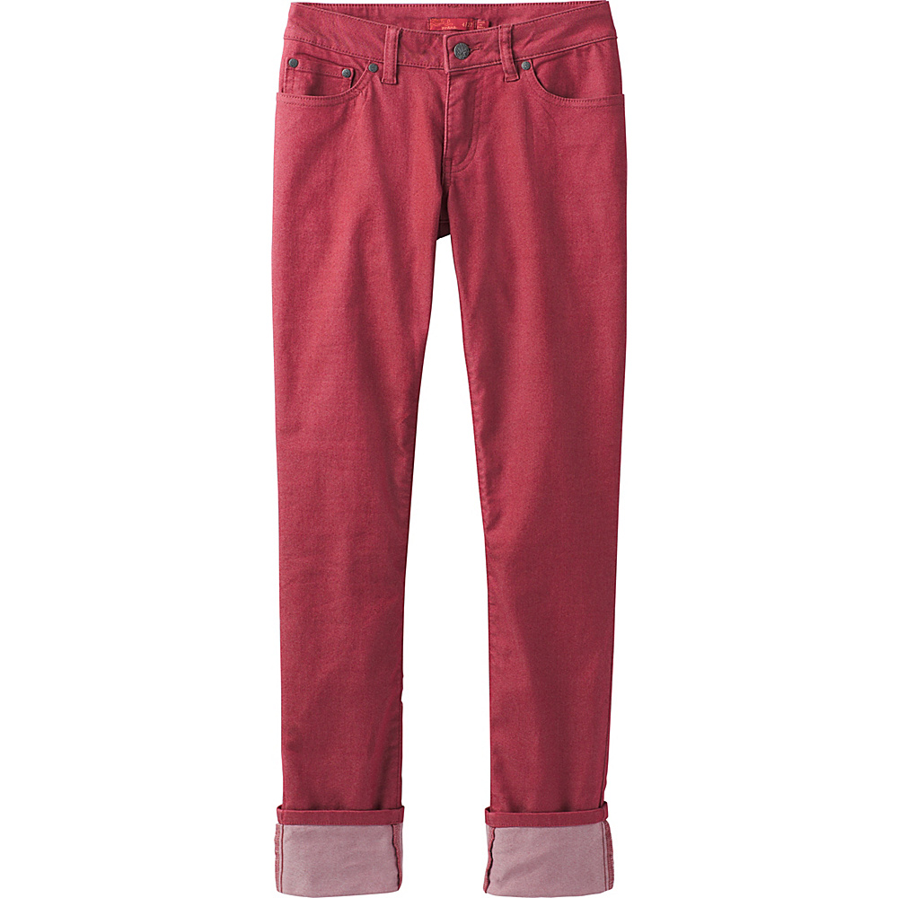 PrAna Kara Jeans 4 - Crushed Cran - PrAna Womens Apparel - Apparel & Footwear, Women's Apparel
