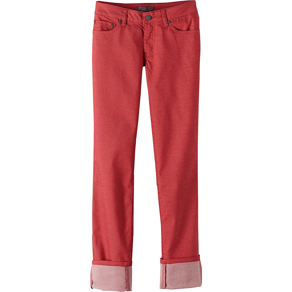 PrAna Kara Jeans 4 - Sunwashed Red - PrAna Womens Apparel - Apparel & Footwear, Women's Apparel