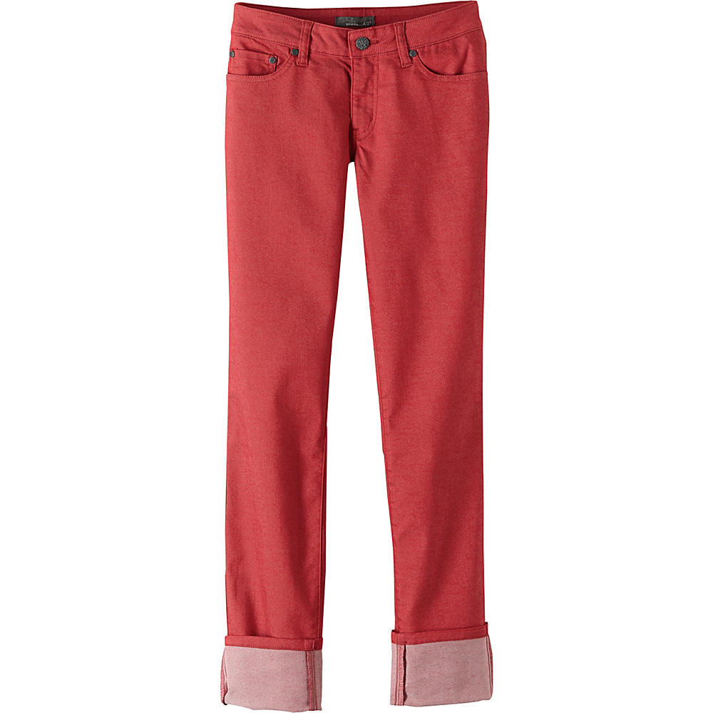PrAna Kara Jeans 6 - Sunwashed Red - PrAna Womens Apparel - Apparel & Footwear, Women's Apparel
