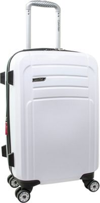 Calvin Klein Luggage Rome 21 Carry-On Hardside Spinner White - Calvin Klein Luggage Hardside Carry-On