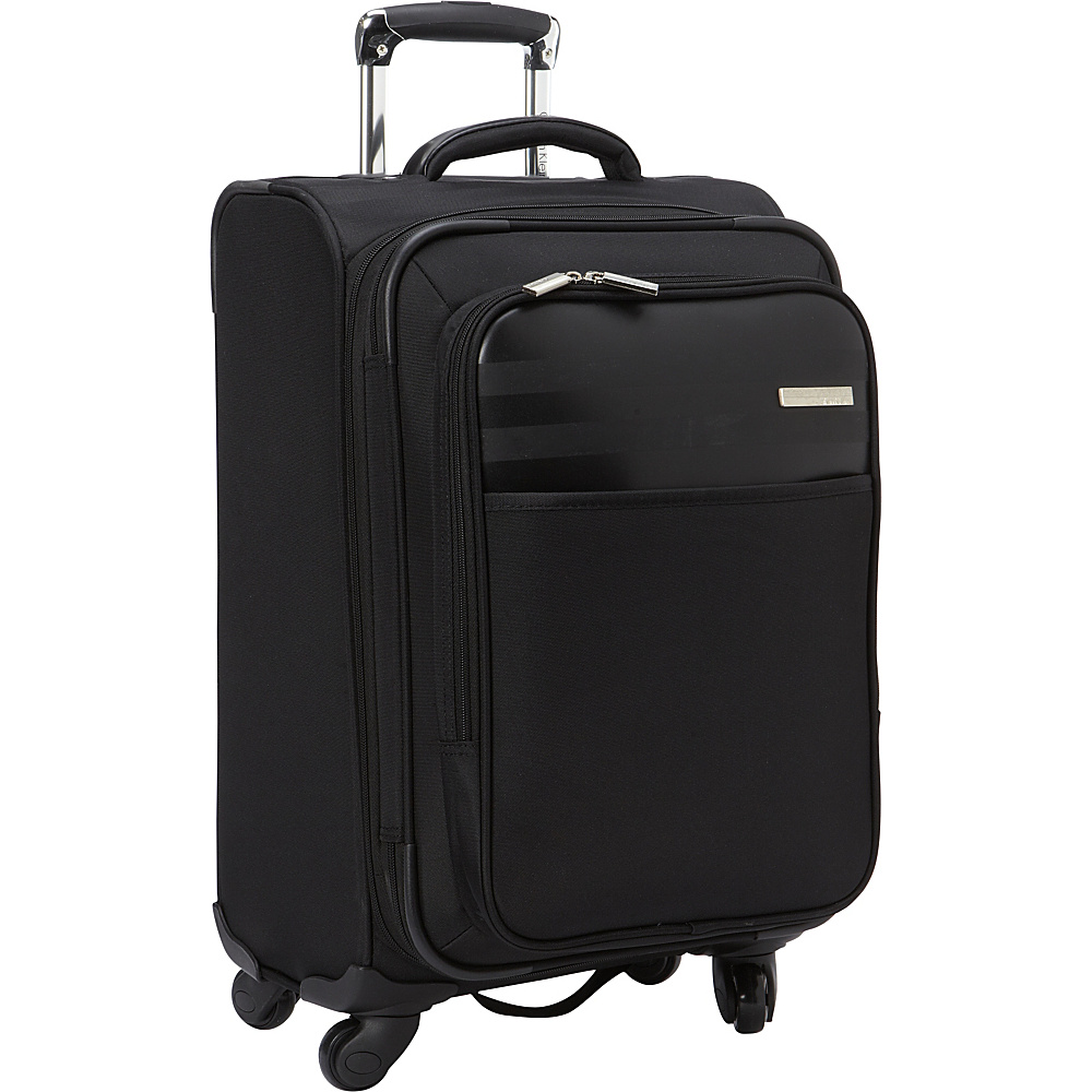 Calvin Klein Luggage Greenwich 2.0 21 Carry On Softside Spinner Black Calvin Klein Luggage Softside Carry On