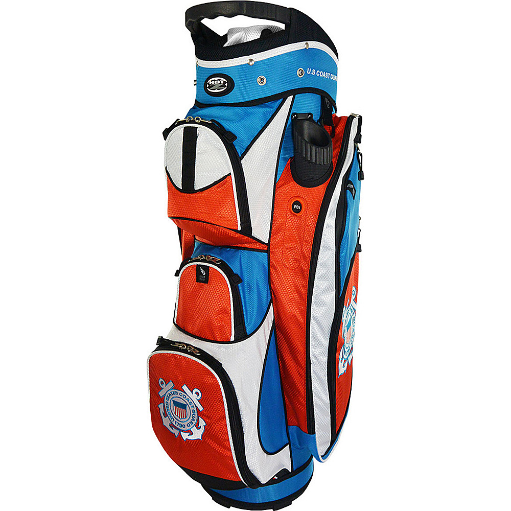 Hot Z Golf Bags Cart Bag Coast Guard Hot Z Golf Bags Golf Bags