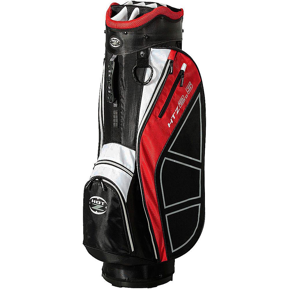 Hot-Z Golf Bags 2.5 Cart Bag Red - Hot-Z Golf Bags Golf Bags
