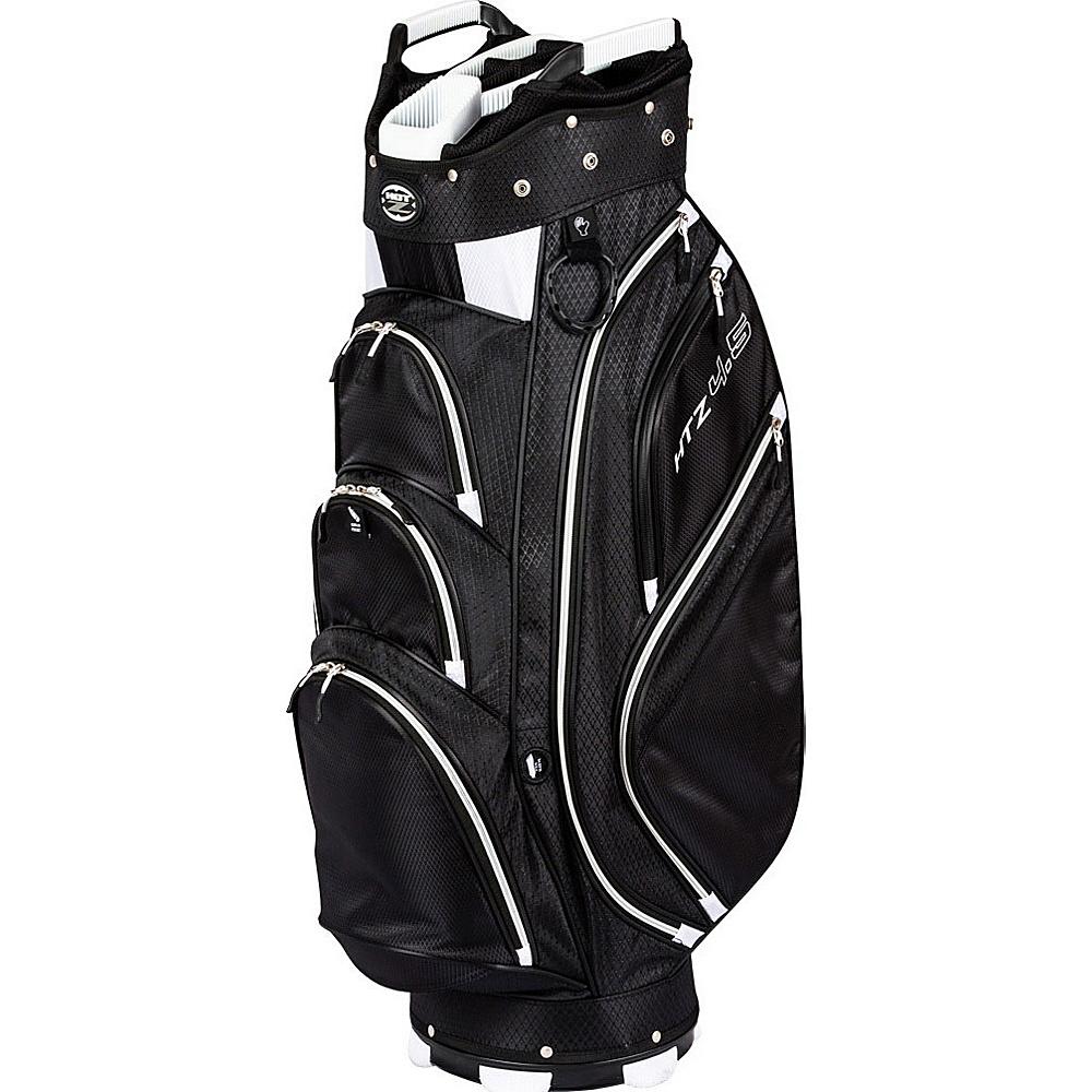 Hot-Z Golf 4.5 Cart Bag Black/Black