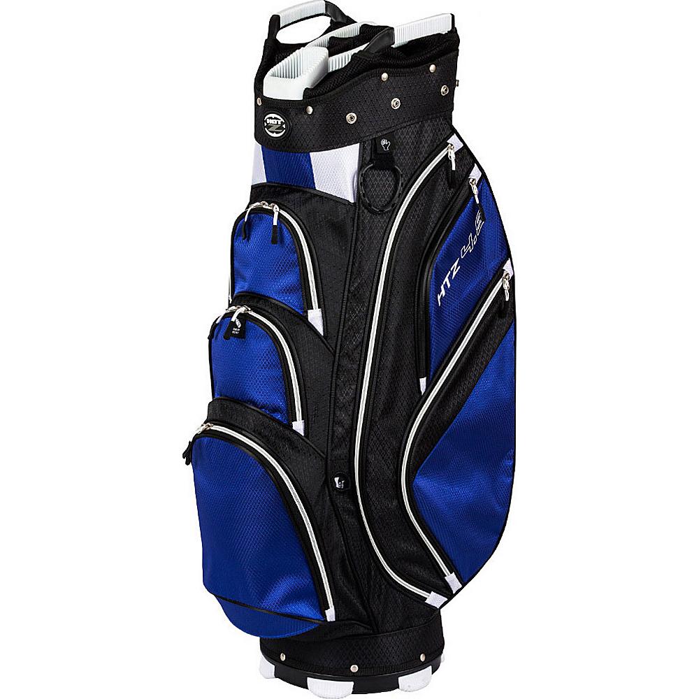Hot-Z Golf Bags 4.5 Cart Bag Cobalt - Hot-Z Golf Bags Golf Bags