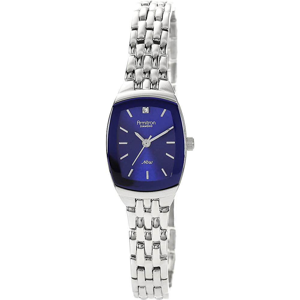 Armitron Womens Diamond Accented Bracelet Watch Silver Armitron Watches