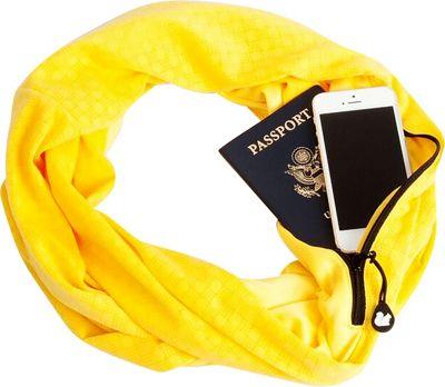Sholdit Dot Scarf Purse Gold - Sholdit Hats/Gloves/Scarves