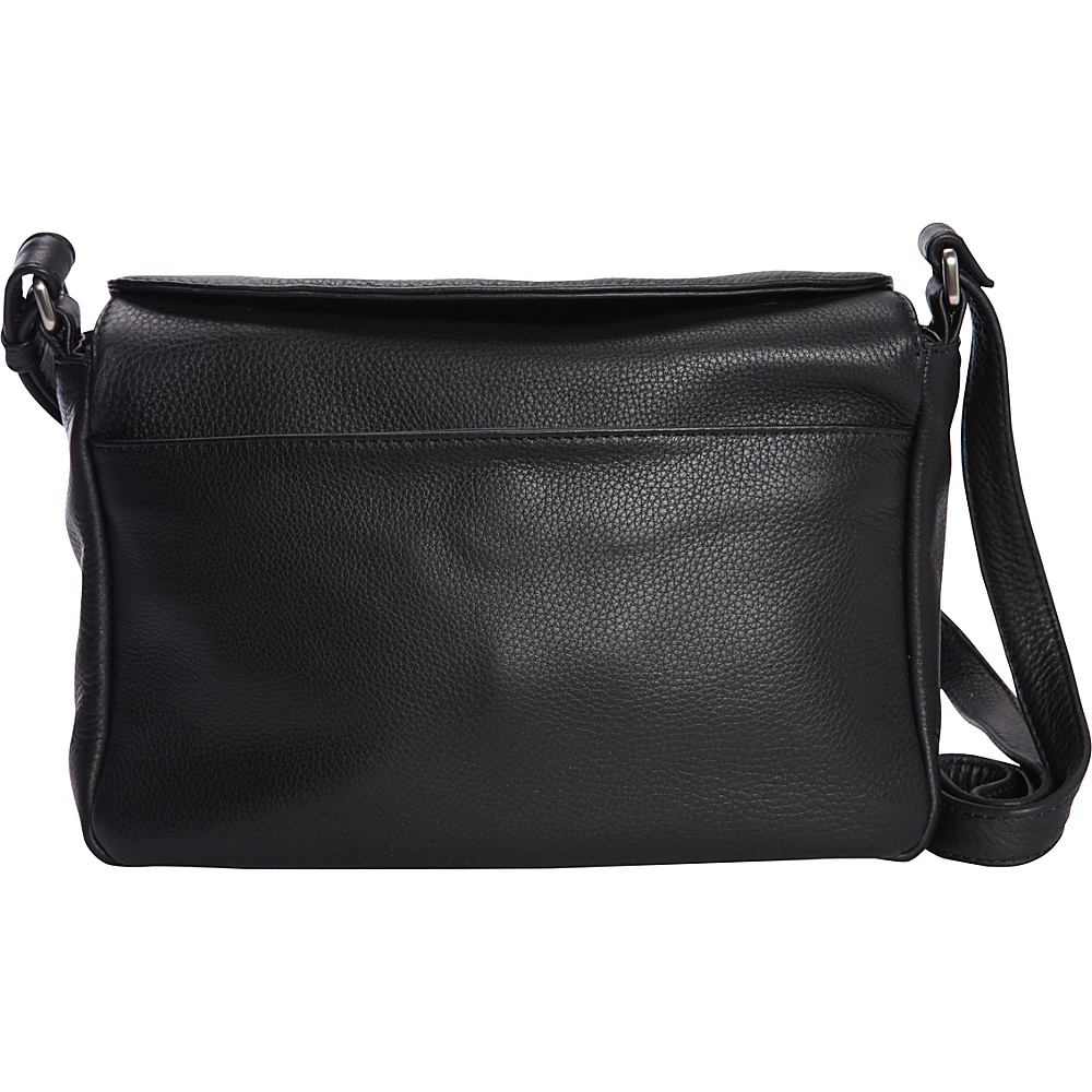 Derek Alexander Medium East/West Crossbody Black - Derek Alexander Leather Handbags - Handbags, Leather Handbags