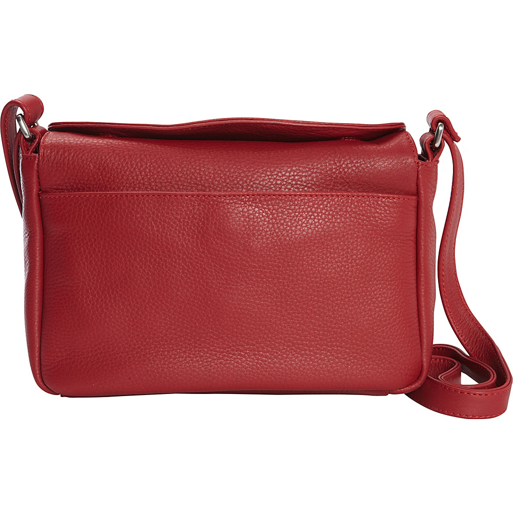 Derek Alexander Medium East/West Crossbody Red - Derek Alexander Leather Handbags - Handbags, Leather Handbags