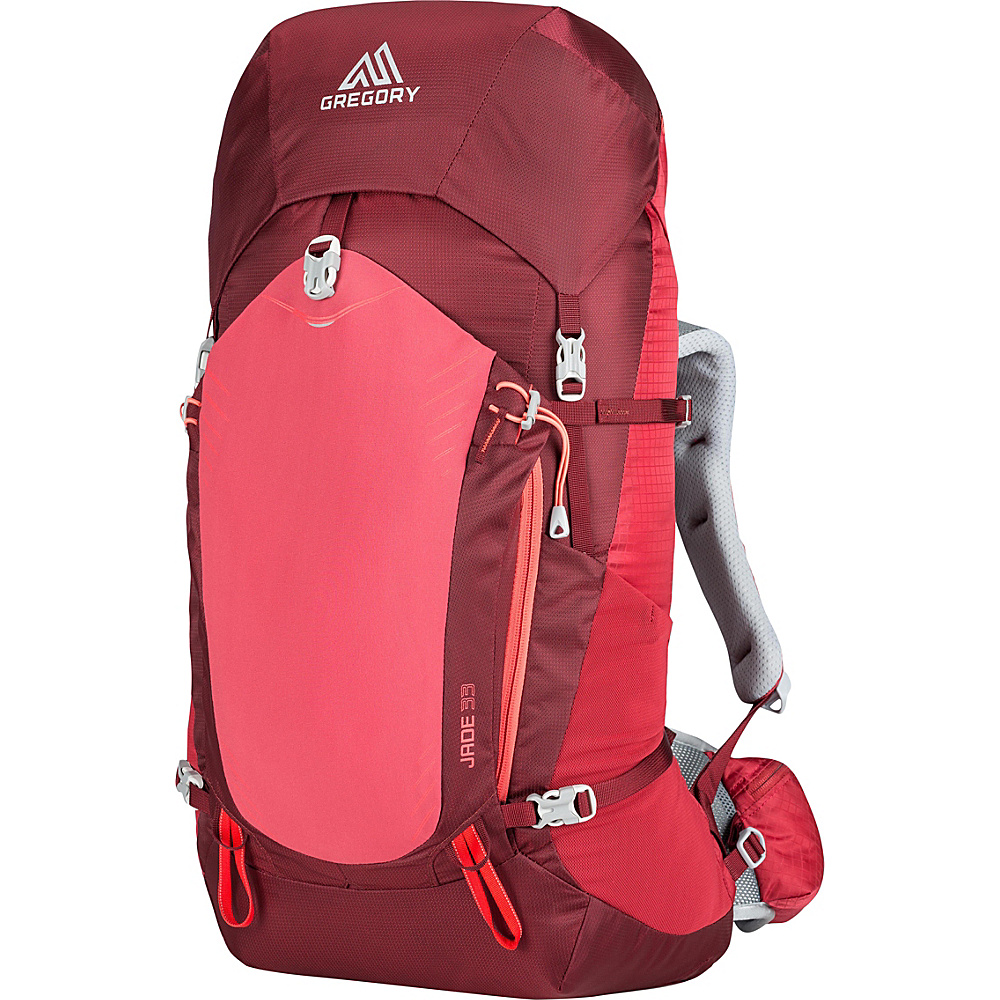 Gregory Jade 33 Small Ruby Red Gregory Day Hiking Backpacks