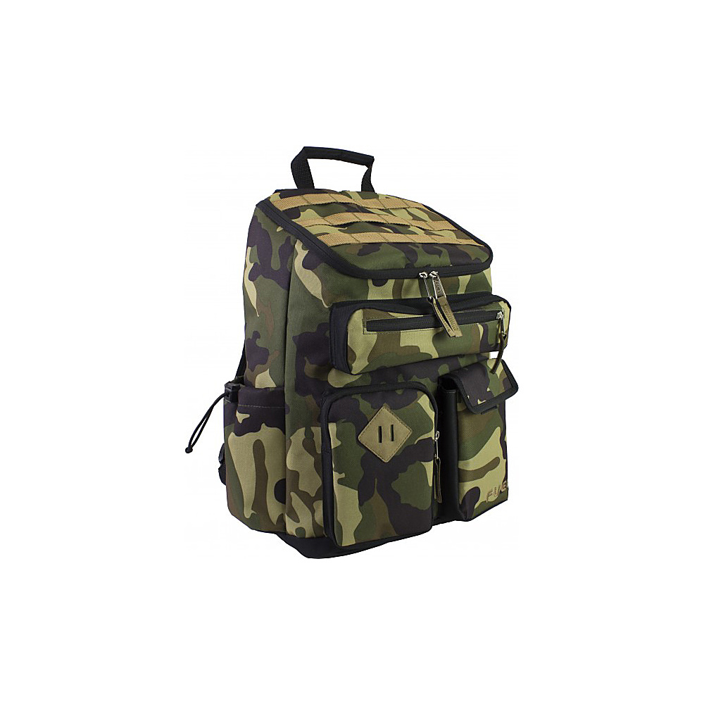 Fuel Top Loader Cargo Backpack Army Camel Fuel Everyday Backpacks