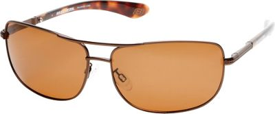 Skechers Eyewear Navigator Sunglasses Brown - Skechers Eyewear Sunglasses