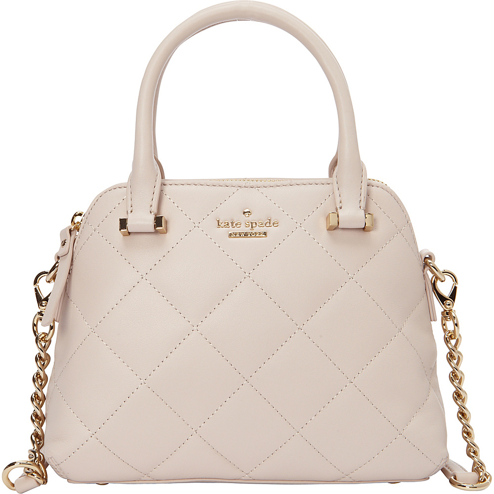 kate spade new york Emerson Place Small Maise Satchel Crisp Linen - kate spade new york Designer Handbags